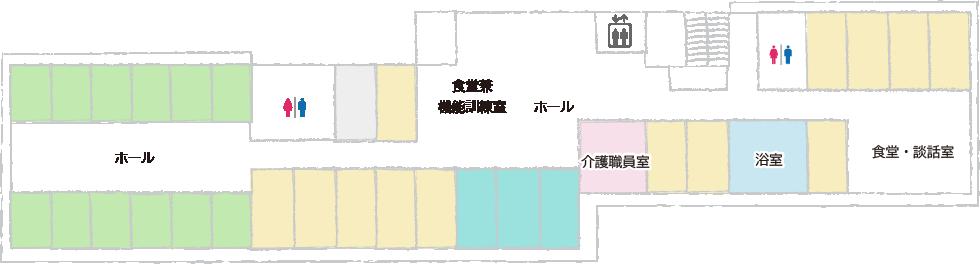 フロアマップ 4F